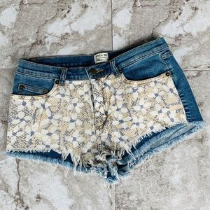 RVCA Nature X Industry Short Shorts